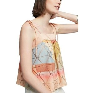 Anthropologie Akemi + Kin Abstract Geo Tank Top M